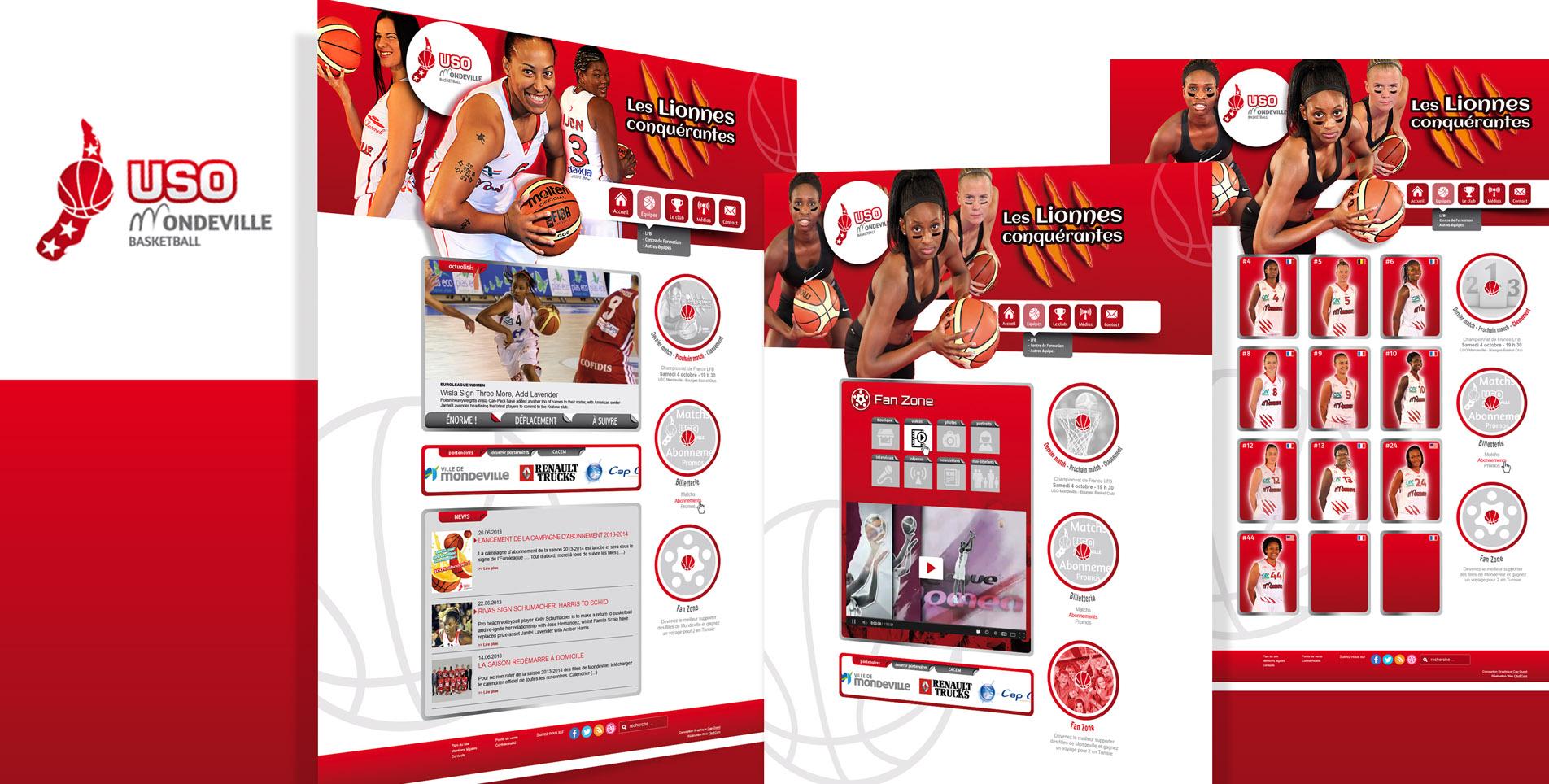 USO MONDEVILLE – Basket féminin