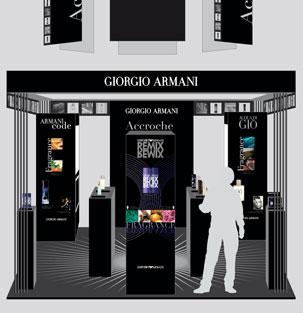 ARMANI – Animation Parfums
