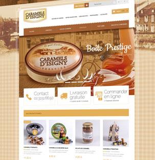 CARAMELS D'ISIGNY – Caramels
