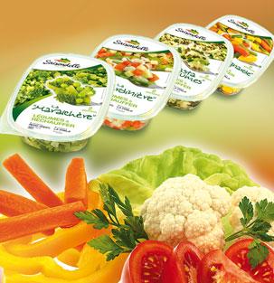 Saisondelle – Légumes à réchauffer