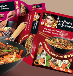 Traiteur – Préparation pour wok